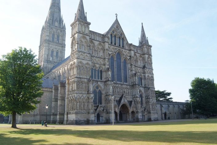Salisbury Cathedral and green make a really good day trip.