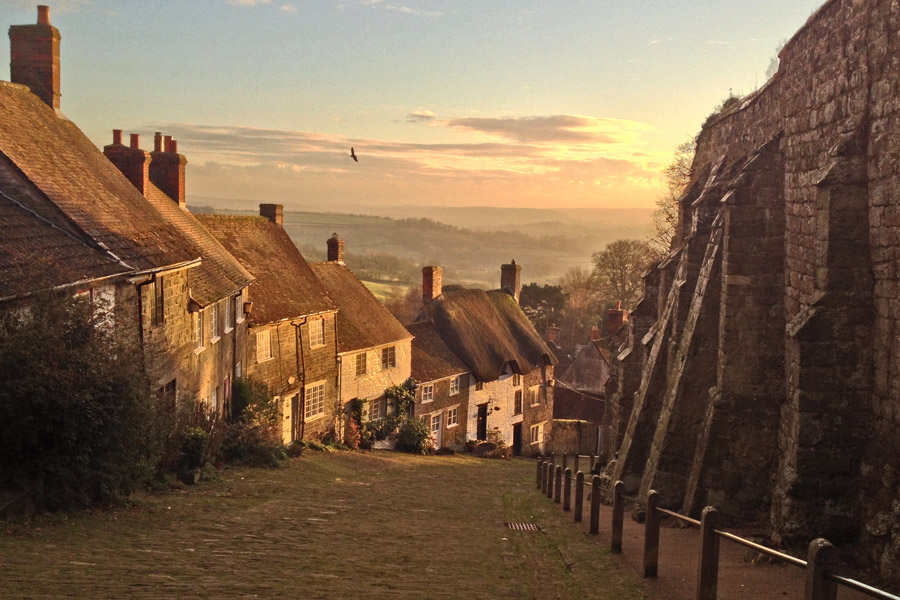 Gold Hill Shaftesbury (featured in the Hovis Ad)